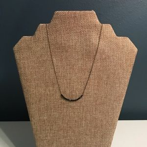 Stella and Dot black bead necklace